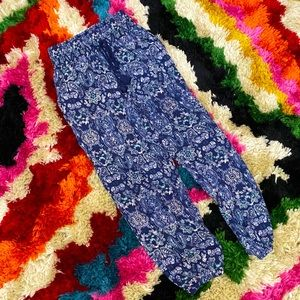 NWT AERIE PAISLEY JOGGERS